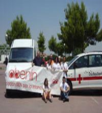 Entrega a Cruz Roja