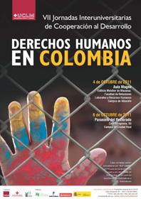 VII Jornada Interuniversitaria de Cooperación de Derechos Humanos en Colombia en la Universidad de Castilla la Mancha (UCLM)