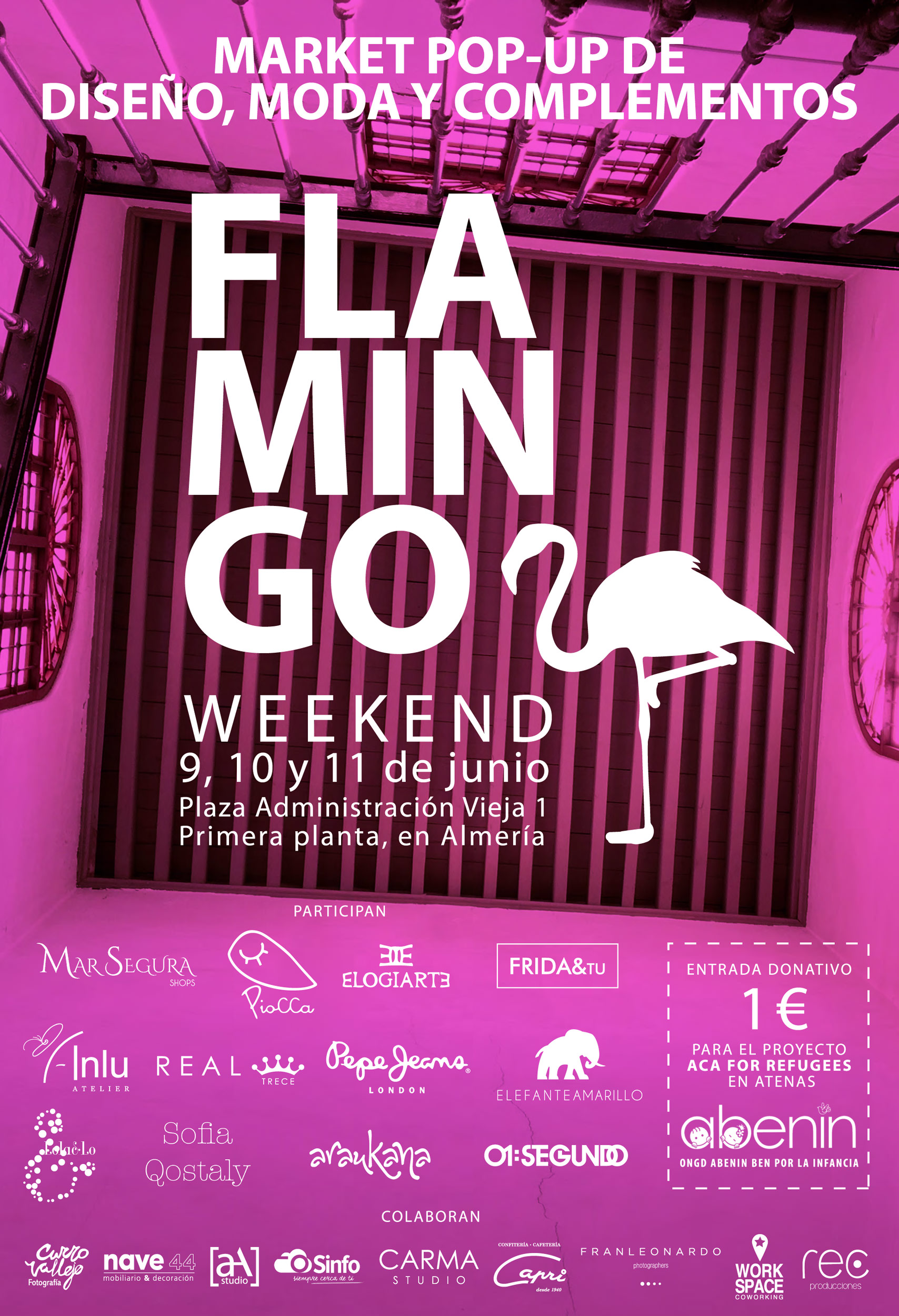 Flamingo weekend 9,10,11 de junio
