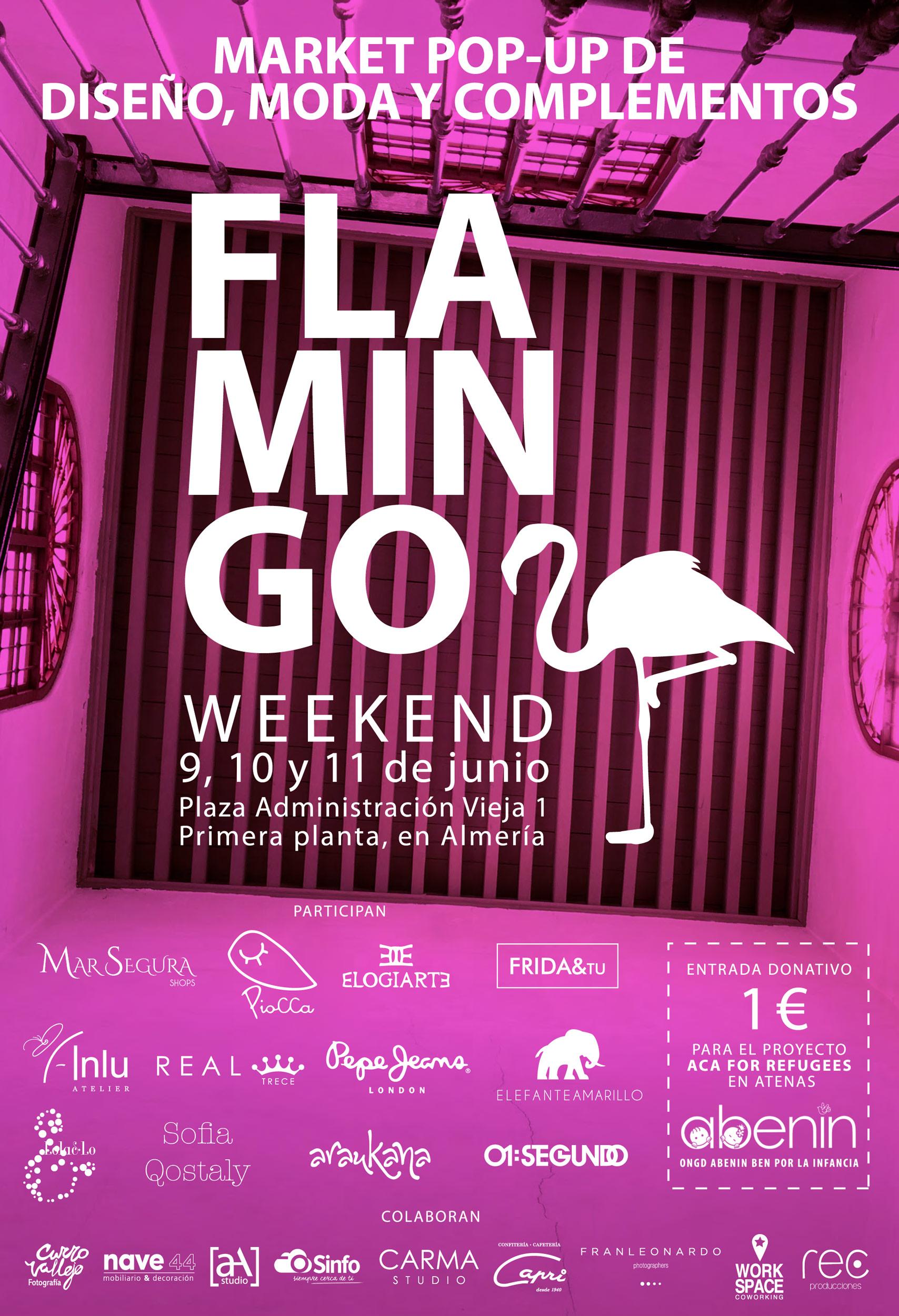 Flamingo weekend 9,10,11 de junio