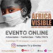 Evento #AfricaVisibleC19 Juntos contra el Covid