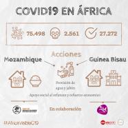 Fundación Ivan Mañero y El Orfanato San Roque se suman a #ÁfricaVisibleC19